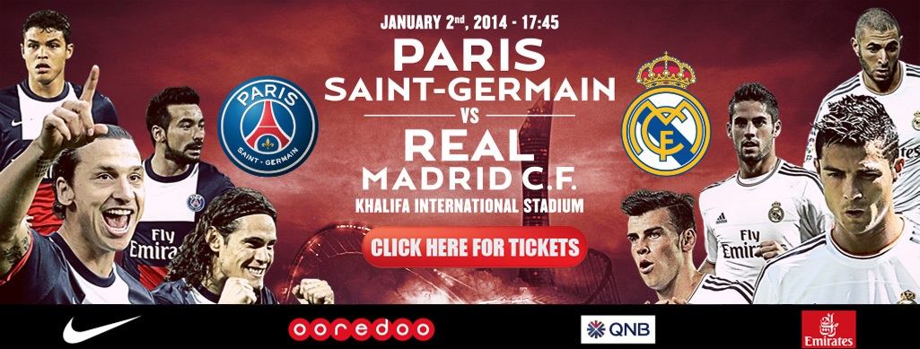 Tickets sold out for psg real madrid friendly qatar football