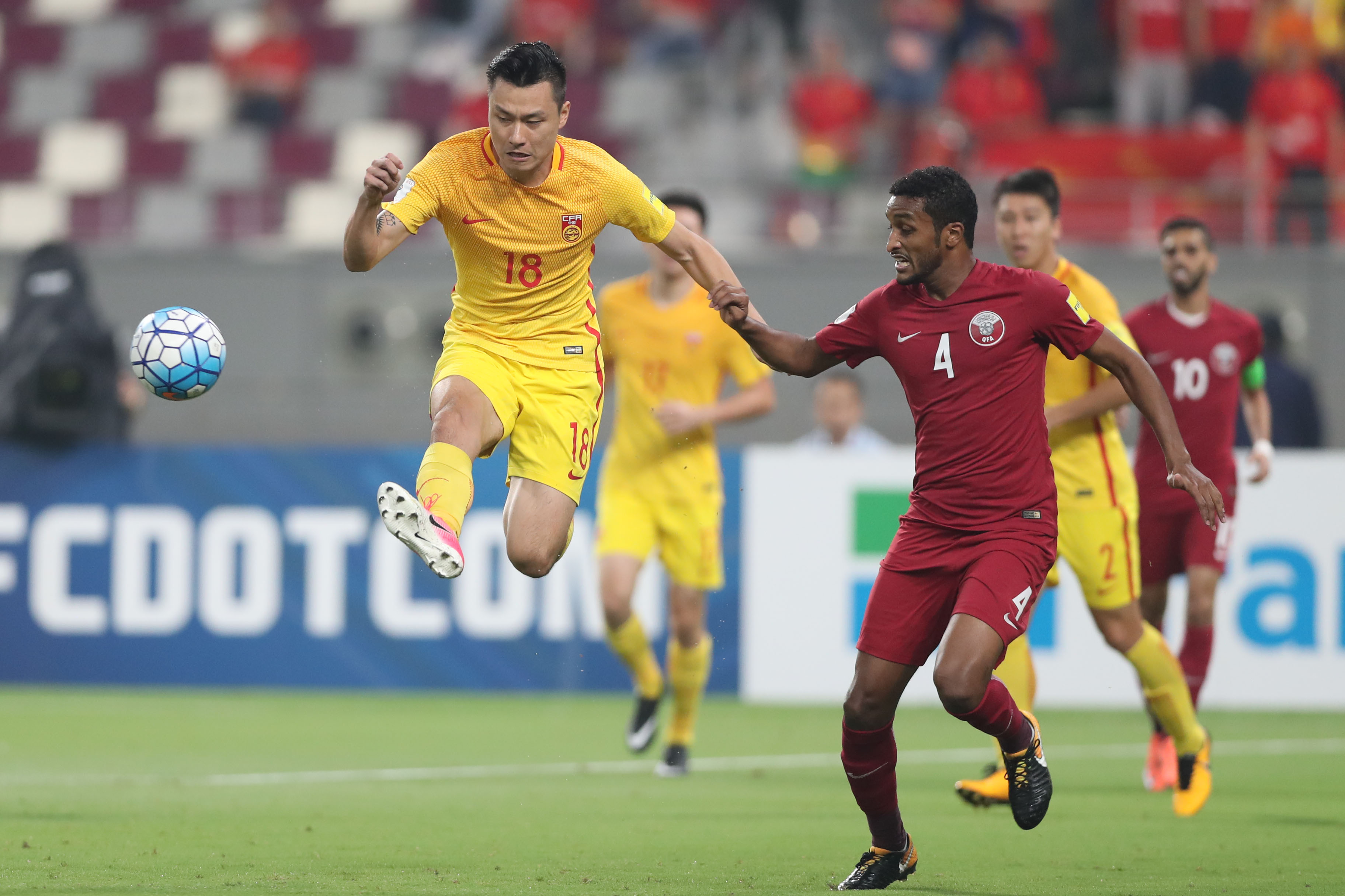 Popular China World Cup 2018 - Qatars-against-China-during-their-Asian-Qualefier-world-cup-Russia-2018-at-Khalifa-Stadium-in-Doha-5-9-2017-1-5-1  Image_343818 .jpg