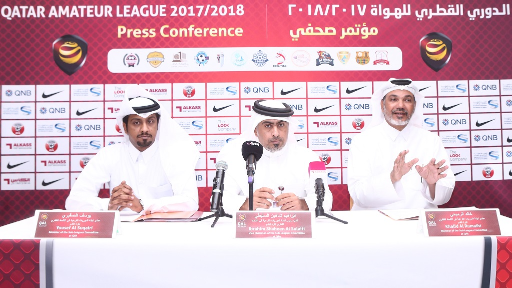 Fifth Qatar Amateur League Set for Kick-off
