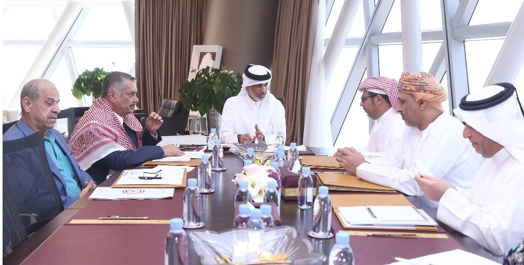 AGCFF Executive Committee Holds Meeting to Discuss 23rd Gulf Cup