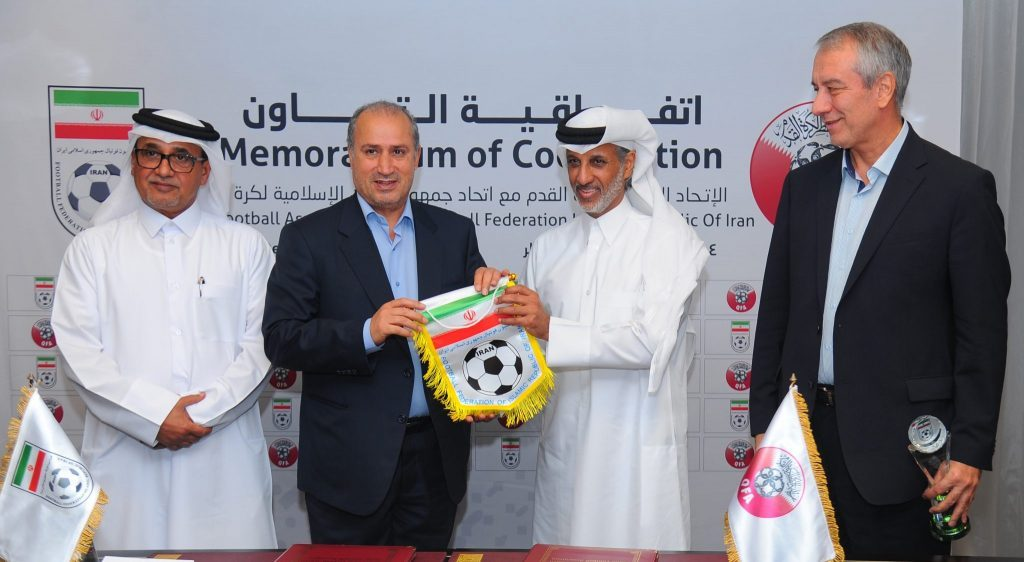 QFA Joins Hands with Iran Football Association to Develop Football